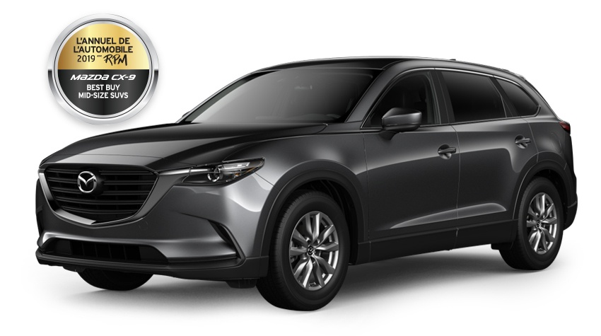 7-PASSENGER 2019 MAZDA CX-9 GS WITH i-ACTIV ALL-WHEEL DRIVE